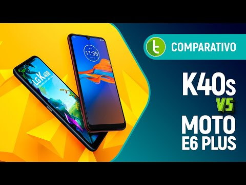 "MOTO E6 PLUS vs K40S: baratinho com ""ANDROID PURO"" ou CUSTOMIZADO? 
