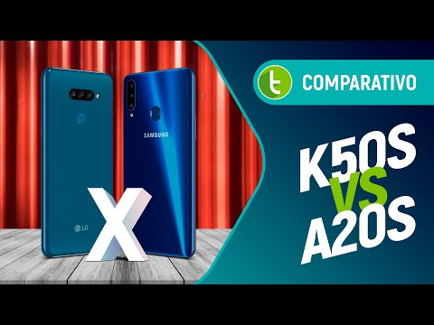 LG K50S vs GALAXY A20S: SAIBA qual básico coreano ESCOLHER | Comparativo