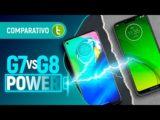 MOTO G8 POWER vs G7 POWER: escolha vai MUITO ALÉM DA BATERIA | Comparativo