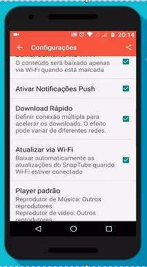 Download Rápido com o aplicativo