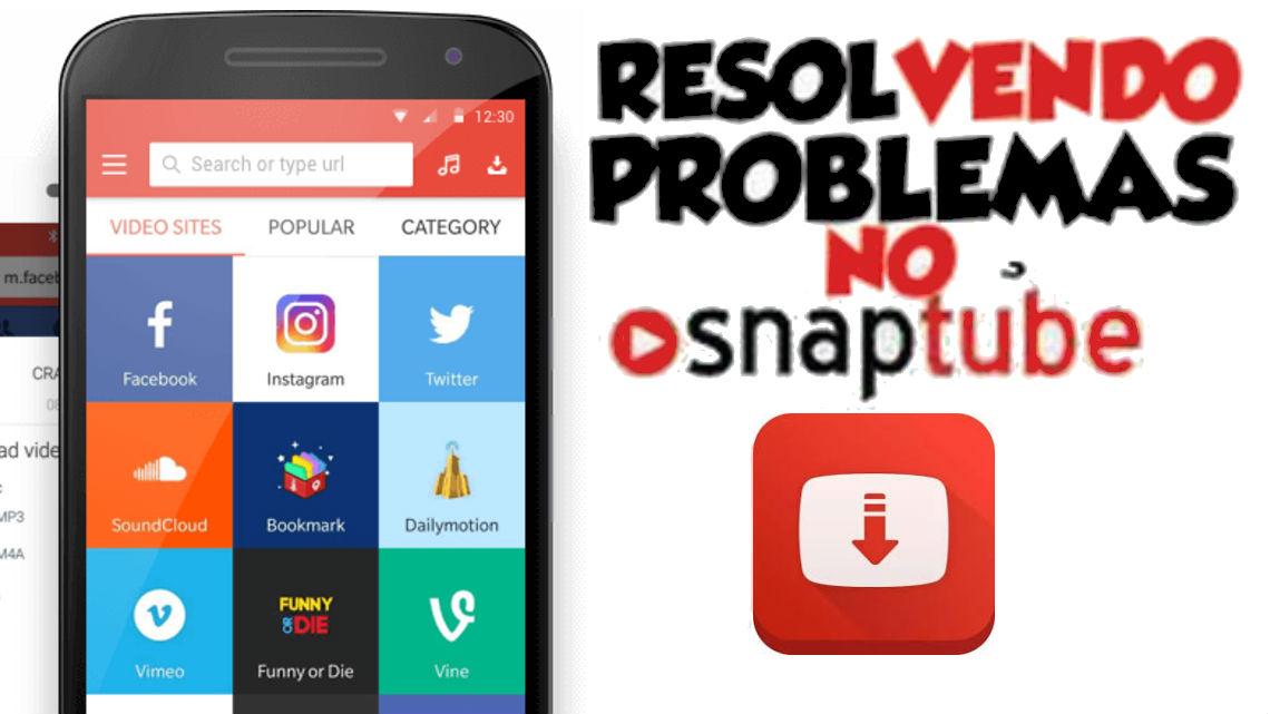 Snaptube original: Como Corrigir Possíveis Erros