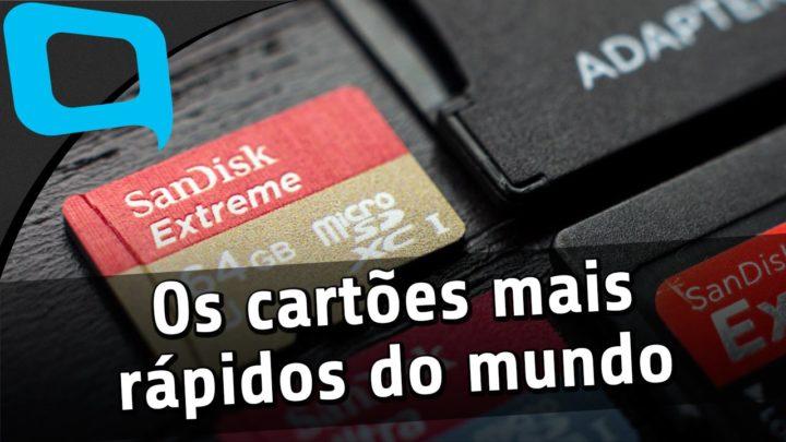 CARTÕES ULTRA RÁPIDOS, SAMSUNG BOMBANDO E ESCOBAR BOLADÃO!