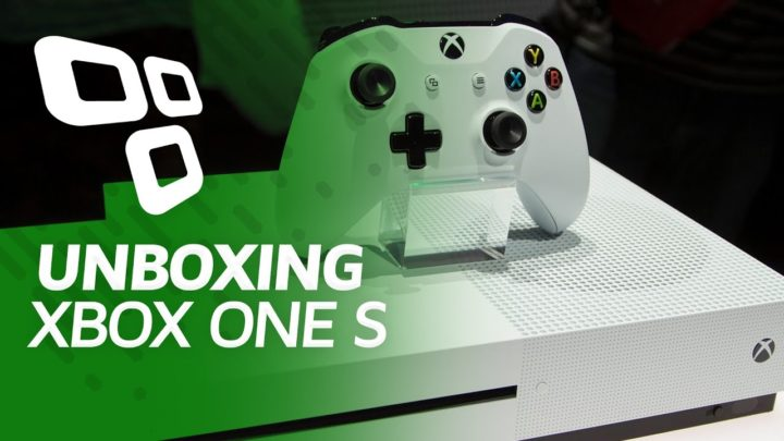Unboxing do Xbox One S