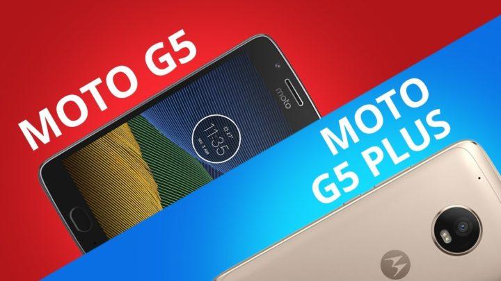 Moto G5 vs Moto G5 Plus [Comparativo]