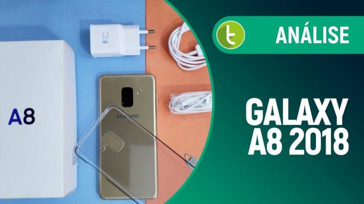 Galaxy A8: proteção contra água e poeira para quem não quer gastar muito   Review / Análise