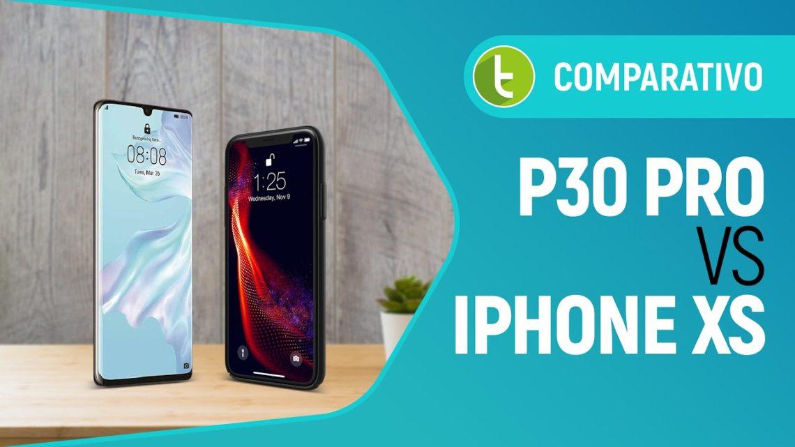 Huawei P30 Pro ou Apple iPhone XS: quem é o campeão dos top de linha nacionais   Comparativo