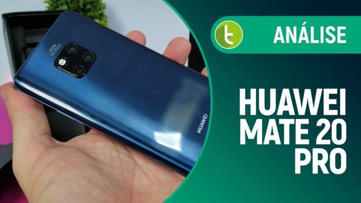 Mate 20 Pro: câmeras não se destacam no bom top de linha Huawei   Análise / Review