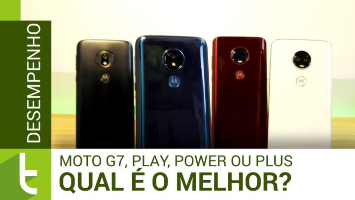 Moto G7, Play, Power ou Plus? A melhor opção não é tão óbvia