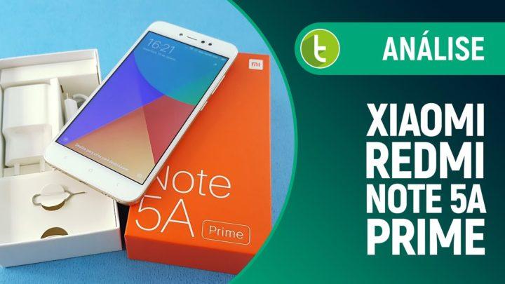 Xiaomi Redmi Note 5A Prime tem bom desempenho custando pouco