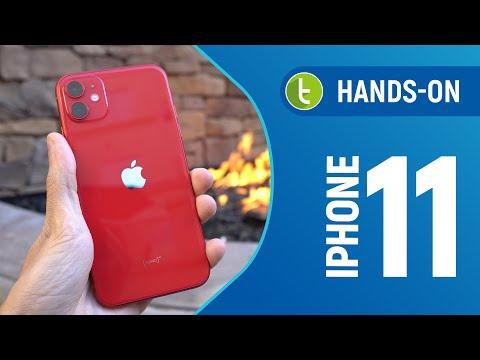 IPHONE 11: TESTES de CÂMERA e VELOCIDADE em um unboxing com hands-on