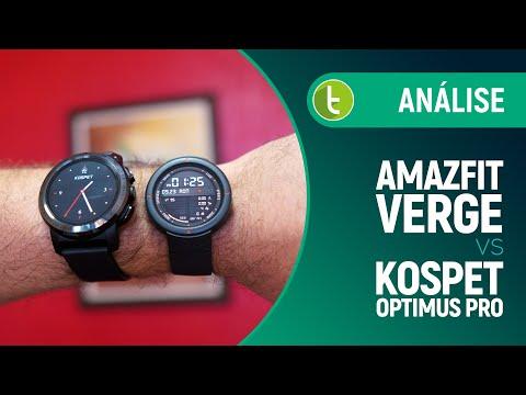 Smartwatch ou celular de pulso? Amazfit Verge vs Kospet Optimus Pro   Análise / Comparativo