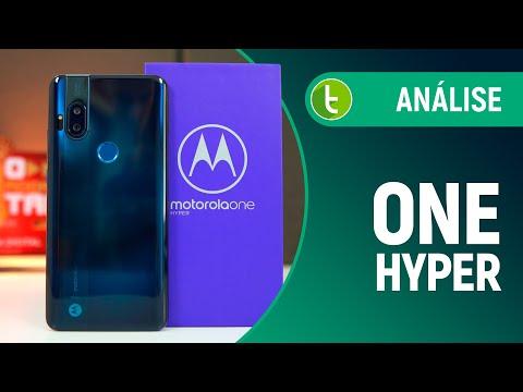 MOTOROLA ONE HYPER: boas câmeras e TELA GRANDE para quem quer FUGIR DO NOTCH | Análise / Review