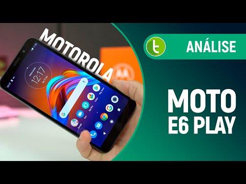 MOTO E6 PLAY: SEM AVANÇOS que JUSTIFIQUEM sua COMPRA | Análise / Review