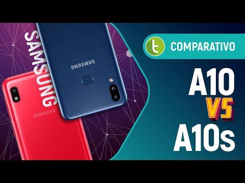 GALAXY A10 vs A10s: a Samsung FINALMENTE ACERTOU em um sucessor? | Comparativo