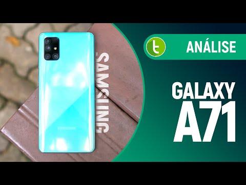 GALAXY A71: AVANÇOS DISCRETOS para se MANTER RELEVANTE | Análise / Review