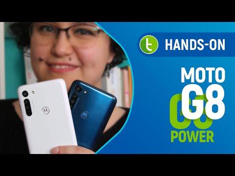 MOTO G8 e G8 POWER: a Motorola NÃO MEXE em time que está GANHANDO | Hands-on