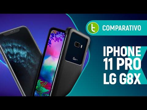 IPHONE 11 PRO vs LG G8X: duas telas conseguem bater popularidade? | Comparativo