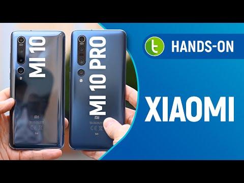 MI 10, MI 10 PRO e surpresa LITE chegam com 5G, quatro câmeras e PREÇO ALTO | Hands-on