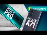 REDMI NOTE 8 Pro vs GALAXY A71: intermediário gamer supera rival coreano? | Comparativo