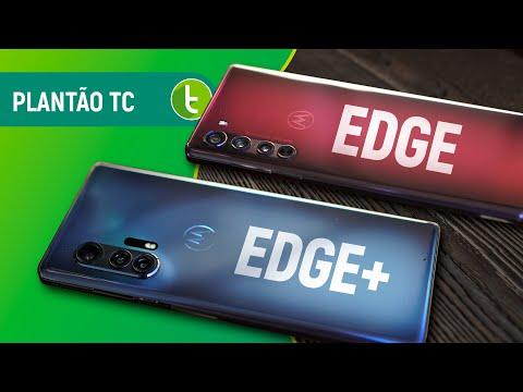 MOTOROLA EDGE e EDGE PLUS lançados, Galaxy Note 20 com câmera na S Pen e + | Plantão TC #36