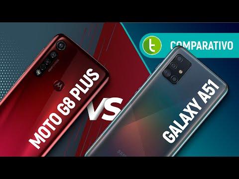 GALAXY A51 vs MOTO G8 PLUS: qual o MELHOR INTERMEDIÁRIO POPULAR | Comparativo