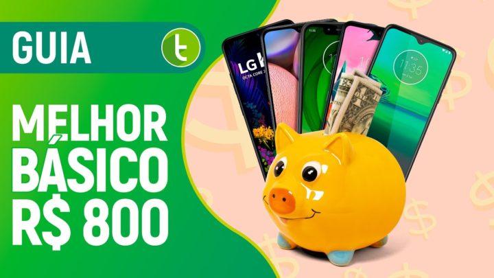 MELHOR CELULAR BÁSICO para COMPRAR até R$ 800 | 2020.1