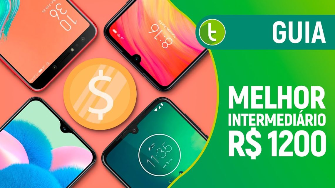 MELHOR CELULAR INTERMEDIÁRIO para COMPRAR por menos de R$ 1.200 | 2020.1