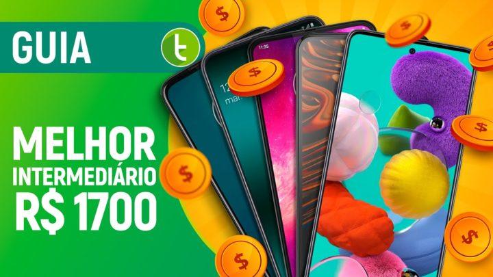 MELHOR CELULAR INTERMEDIÁRIO para COMPRAR até R$ 1.700 | 2020.1