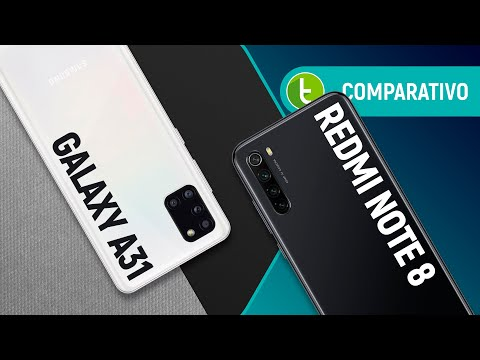 GALAXY A31 vs REDMI NOTE 8: NOVO INTERMEDIÁRIO SAMSUNG supera rival XIAOMI? | Comparativo