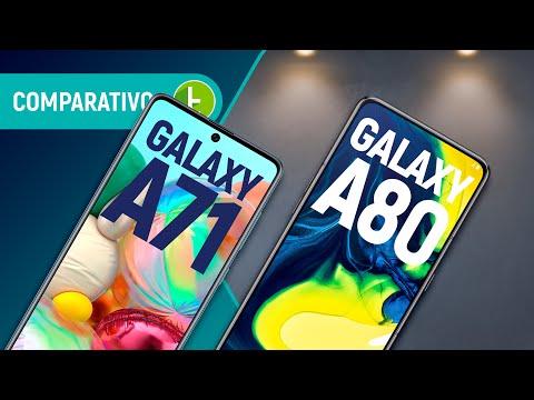 GALAXY A71 vs A80: qual é o MELHOR INTERMEDIÁRIO PREMIUM SAMSUNG para COMPRAR? | Comparativo