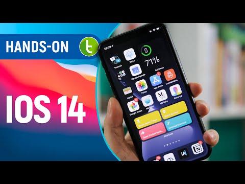 Agora tem WIDGETS? IOS 14 e TODAS as suas NOVIDADES | Hands-on em vídeo