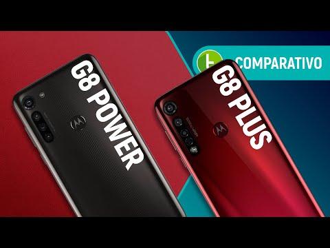 MOTO G8 POWER vs G8 PLUS: em briga de irmãos Motorola, QUAL É O MELHOR? | Comparativo