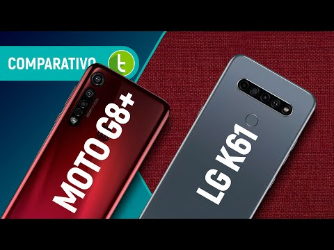 K61 vs MOTO G8 PLUS: LG desafia PRINCIPAL INTERMEDIÁRIO MOTOROLA em 2020 | Comparativo