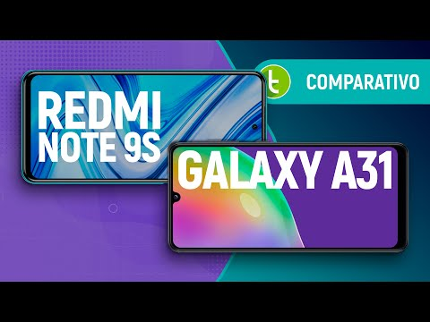 GALAXY A31 vs REDMI NOTE 9S: MEDIATEK e QUALCOMM em novo EMBATE de intermediários | Comparativo