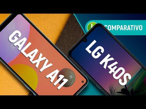 GALAXY A11 vs K40s: qual o MELHOR CELULAR BÁSICO, Samsung ou LG?   Comparativo
